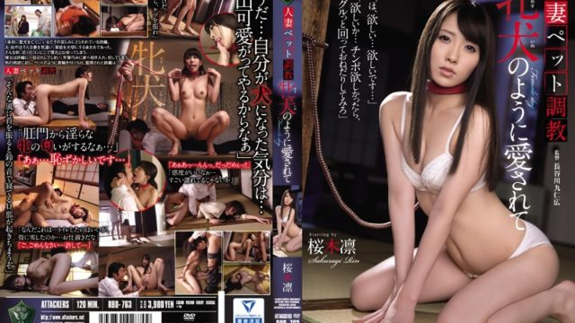 RBD 763 It Is Loved Like A Married Woman Pet Torture Female Dog Rin Sakuragi
