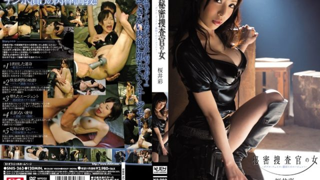 SNIS-263 Aya Sakurai – Agent Of Betrayal – Double Face – Woman Of Undercover Officer